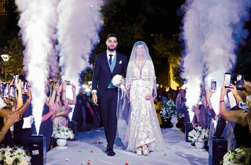 רון ירקוני ובת זוגו שיראל איטח. צילום: שרון רביבו