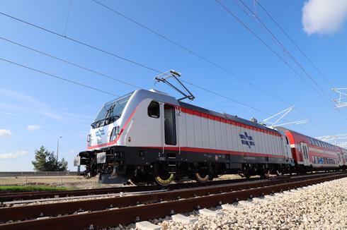 קו הרכבת המהיר ירושלים - תל אביב (צילום: רועי אלמן)