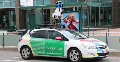 מכונית הצילום של גוגל. בקרוב אצלנו   צילום: Pixabay
