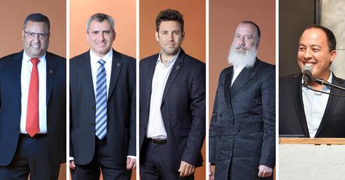 """המועמדים לראשות עיריית ירושלים. צילום: דנה קופל ויח""""צ"""