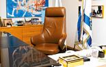 כיסא ראש העירייה. צילום: יואב דודקביץ'
