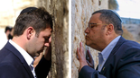 ליאון וברקוביץ׳ בכותל. צילום: יואב דודקביץ׳