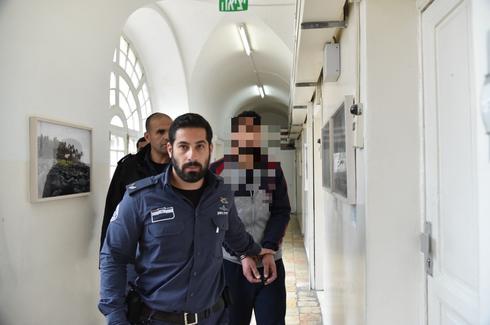 החשוד בהארכת המעצר. צילום: יואב דודקביץ'