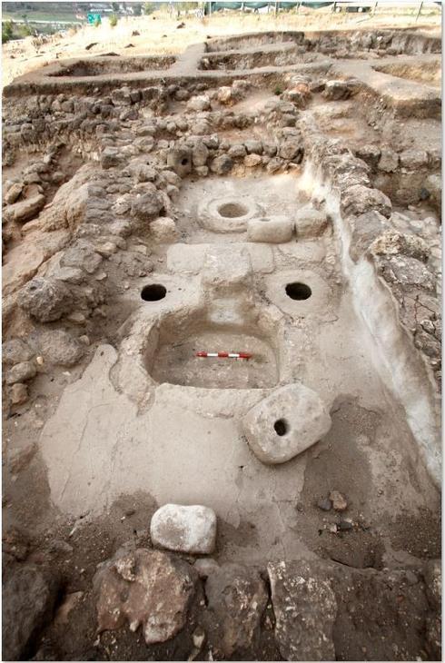ממצאי החפירה. צילום: טל רוגובסקי