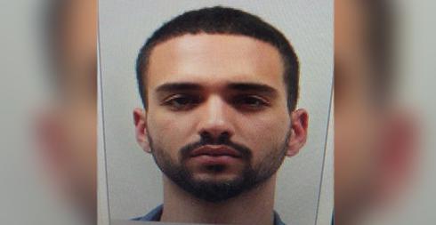 החשוד נתנאל סנדרוסי (צילום: דוברות המשטרה)