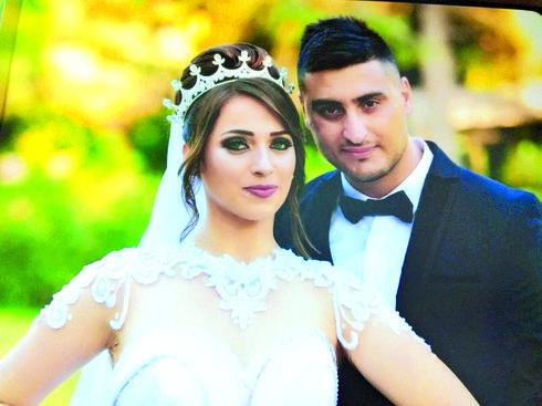 רינאל ועדנאן בחתונתם | צילום: סלמאן סעיד