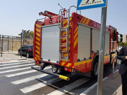 כיבוי אש. צילום: כיבוי והצלה מחוז ירושלים