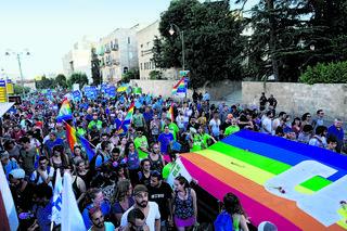 מצעד הגאווה בירושלים בשנה שעברה. (ארכיון). צילום: עמית שאבי