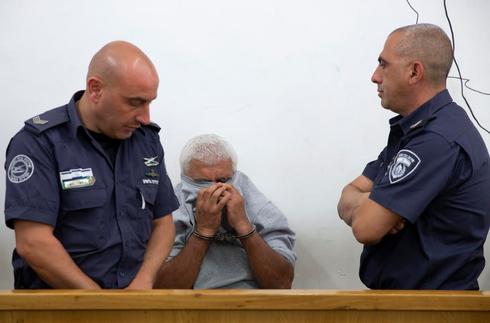 מרדכי מוגזמוף בהארכת מעצרו הראשונה. צילום: עמית שאבי