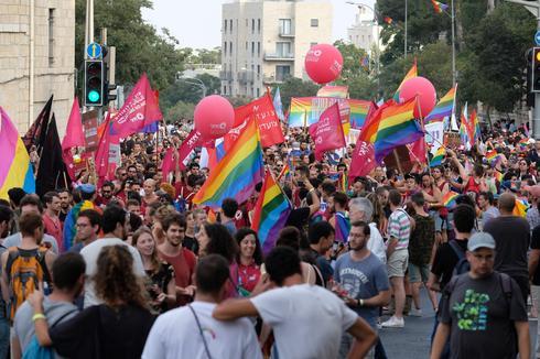 מצעד הגאווה בשנה שעברה, 2018 (צילום: יואב דודקביץ)