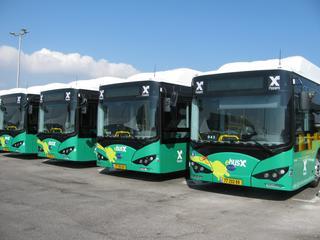 אוטובוסים חשמליים. צילום: וינשטוק צבי