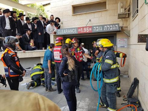 צילום: כבאות והצלה מחוז ירושלים