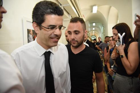 דני כץ בהארכת המעצר. צילום: יואב דודקביץ'