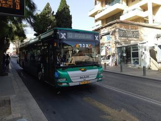 אוטובוס בירושלים. צילום: אדווה חולי