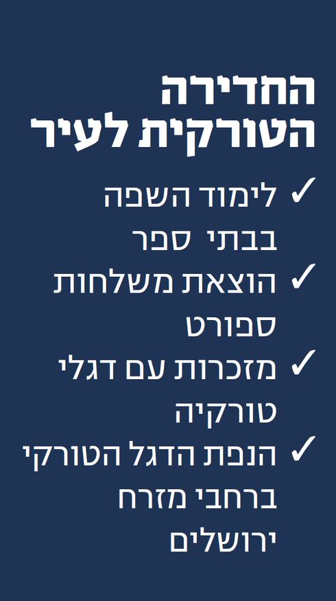 תוכנית הפעולה של ארדואן בירושלים