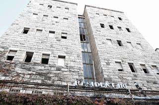 מלון הנשיא בטלביה. 30 שנות הזנחה | צילום: שלומי כהן