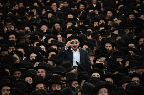 עצרת החרדים (צילום: יואב דודקביץ׳)
