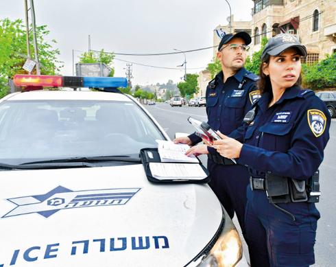 שוטרים ממשטרת התנועה. צילום: רפי קוץ