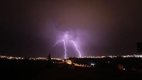 ברק בירושלים (צילום: איתי גרינבוים)