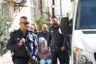 אלירן מלול מגיע לבית המשפט (צילום: אוהד צויגנברג)