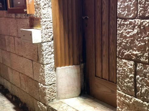דלת בית הכנסת. צילום: לירן תמרי