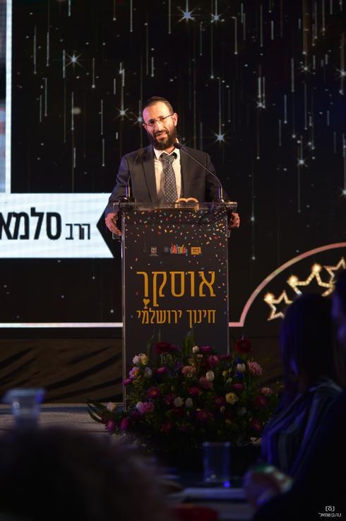 הרב סלמן כהן. צילום: נוה בן שמואל