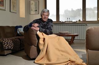 תמיר. שמיכה לשינה והגנה מהפגזות. צילום: יואב דודקביץ'