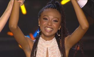 עדן אלנה, זוכת הכוכב הבא לאירוויזיון 2020. צילום מסך ערוץ 12