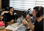 אליעד נחום ברדיו ירושלים. צילום: בן טרייביץ'