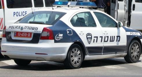 ניידת משטרה. צילום: ארכיון דוברות המשטרה