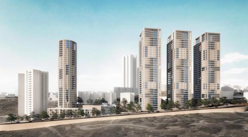 הפרויקט בקרית מנחם   הדמיה: רוזנפלד־ארנס־אדריכלים